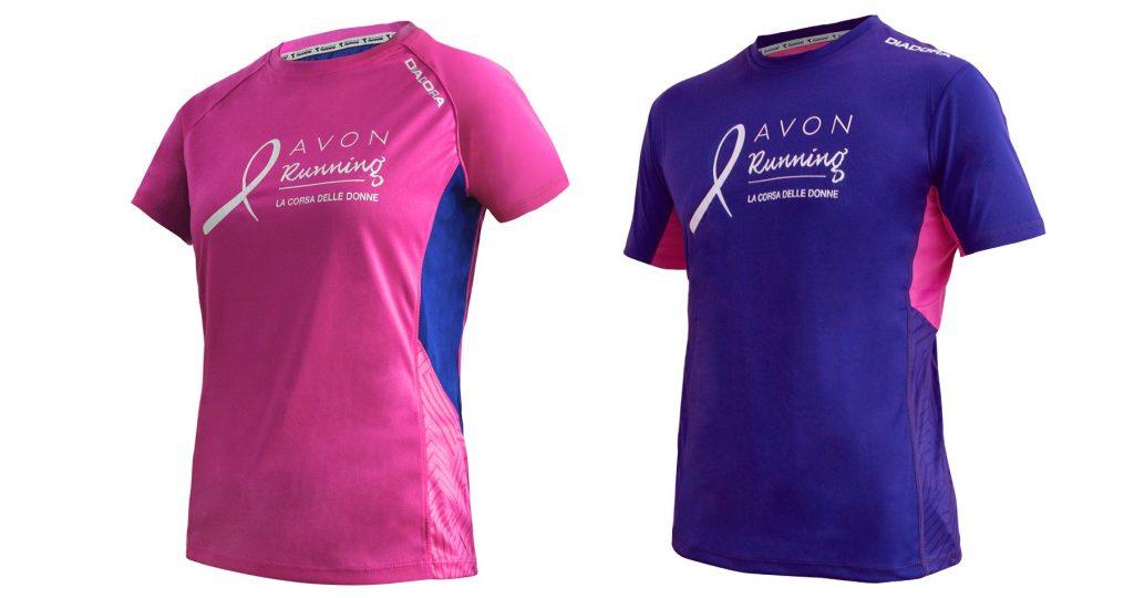 Maglia Diadora per Avon Running