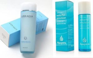 Missha Super Aqua Hydrating Emulsion -Tony Moly Aquaporin Waterful Emulsion