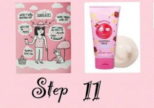 UNDICESIMO STEP: SLEEPING PACK/SPF
