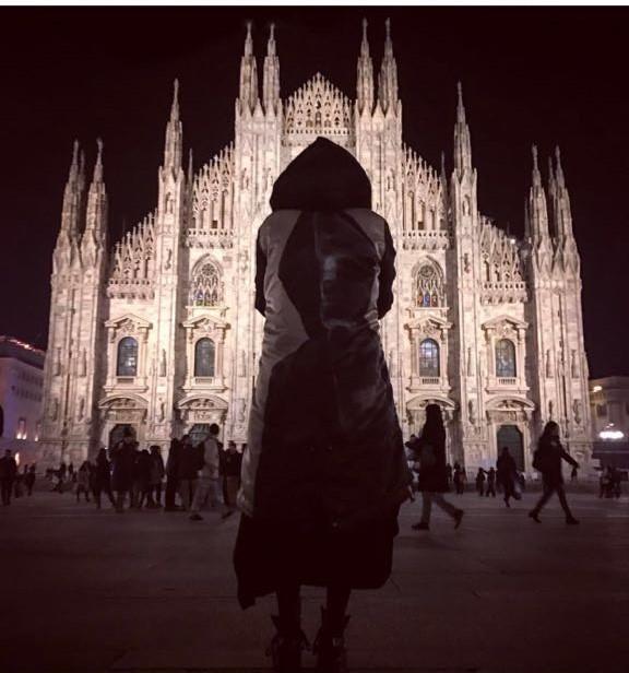 Kat Von D a Milano nel Gennaio 2017
