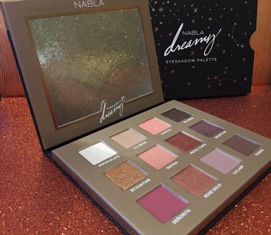 Nabla Dreamy Eyeshadow Palette.