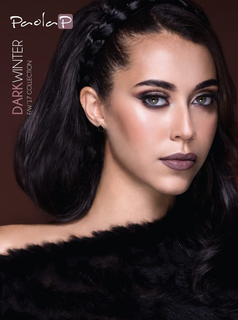 PaolaP Look Realizzato dai Mua con la Dark Winter Collection