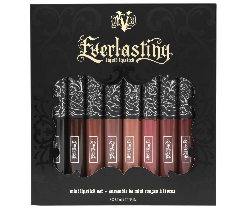 SAINT & SINNER EVERLASTING MINI LIPSTICK SET