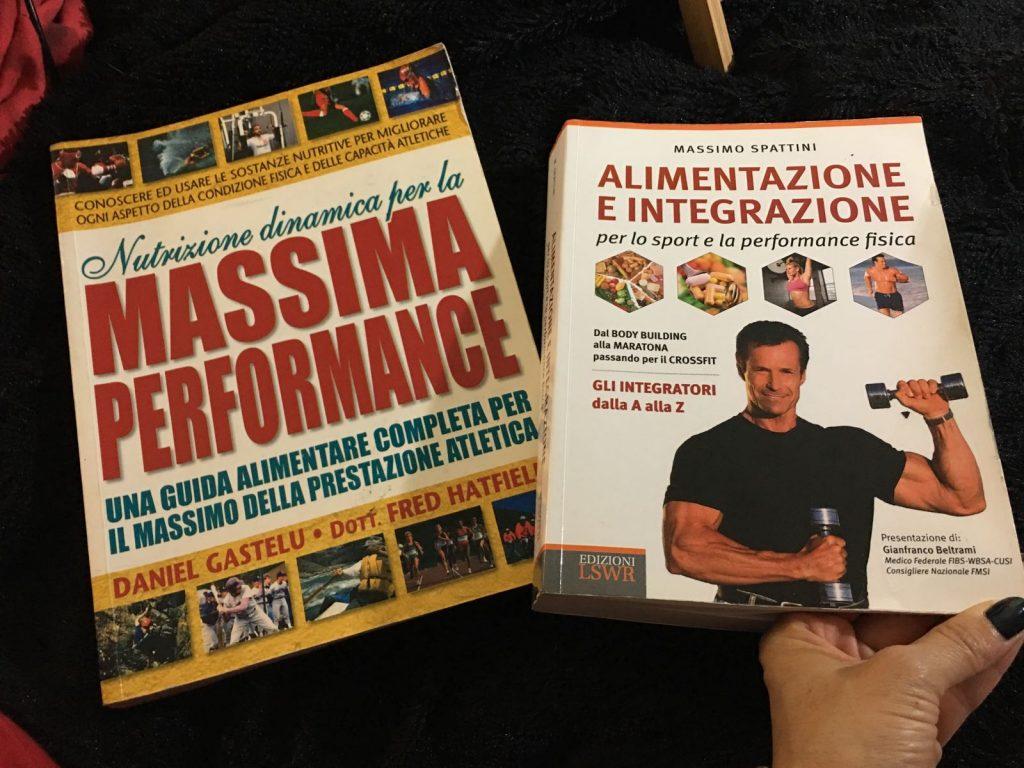 Alcuni miei libri in materia di nutrizione