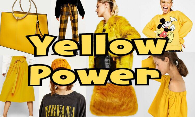 Metti del giallo nel tuo autunno! Tendenze AutunnoInverno