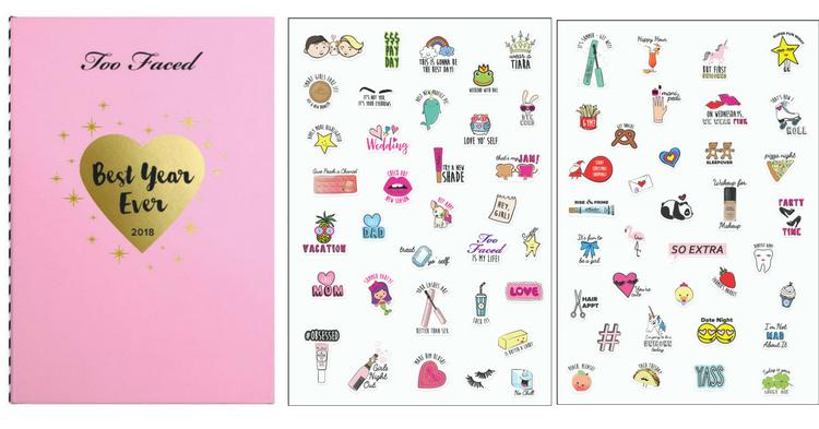 Il risultato è un'agenda rosa in edizione limitata che si accompagna ad una meravigliosa palette con ben 24 eyeshadow, 1 terra, 1 illuminate e un blush. L'agenda che ho sfogliato il giorno della presentazione è davvero bellissima e arricchita di simpaticissimi stickers !