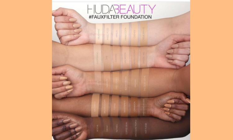 Swatches sui vari tipi di pelle