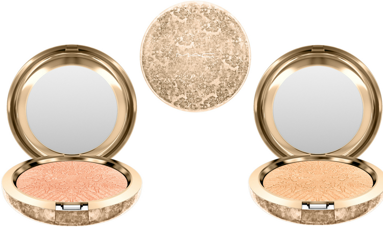 FACE POWDER: da sinistra HERE COMES JOY e HAPPY GO DAZZLINGLY