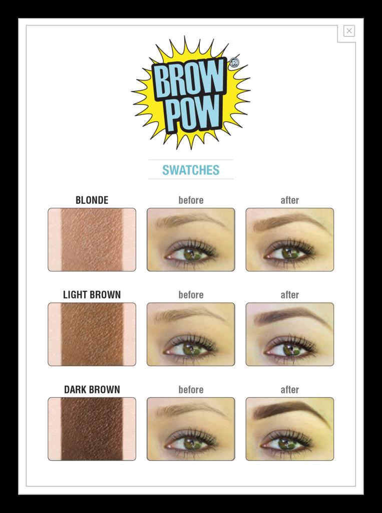 Brow Pow: prima e dopo