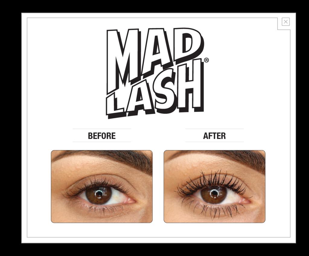 Mad Lash : prima e dopo