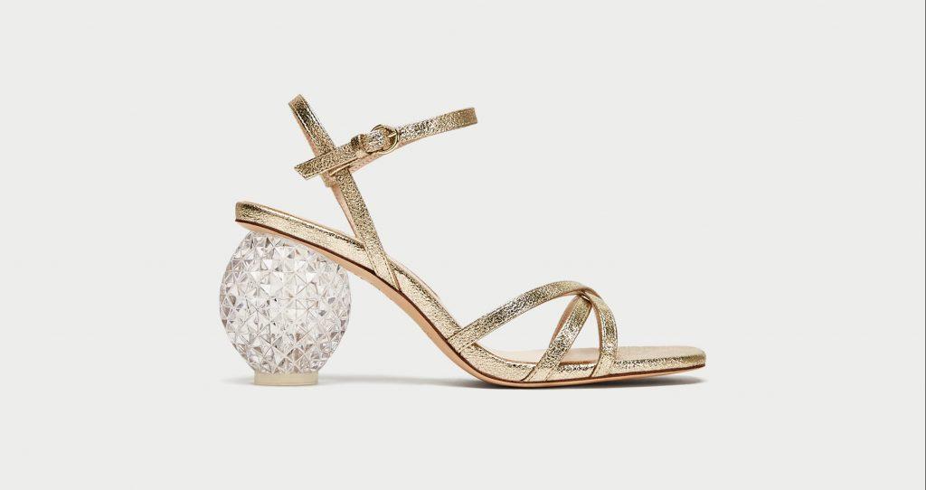 Sandalo super stravagante di Zara €69,95