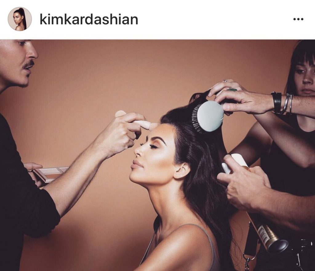Photo @kimkardashian Instagram