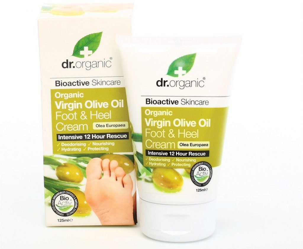 Dr. Organic Virgin Olive Oil Foot and Heel Cream