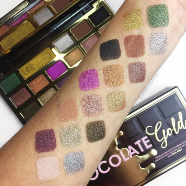 Swatches di @makeup.just.for.fun in Instagram