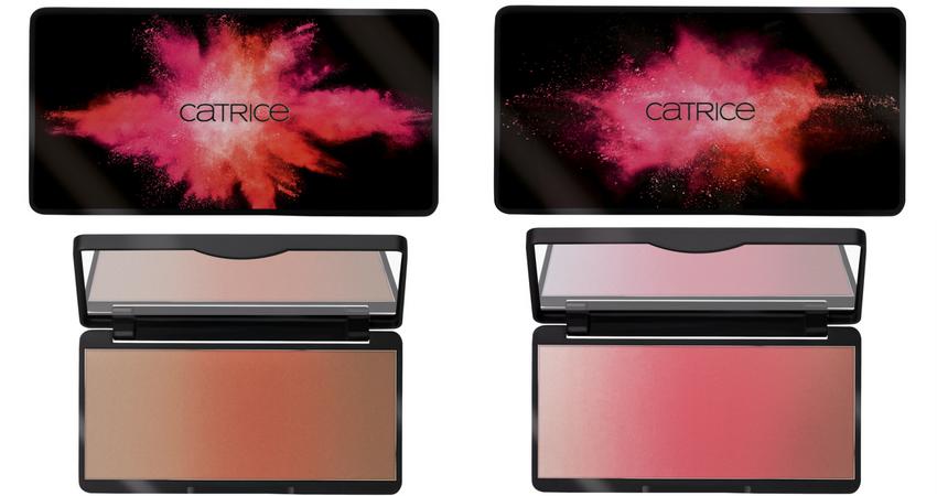 Palette blush viso ombré: Blurred Orange e Vibrant Pink