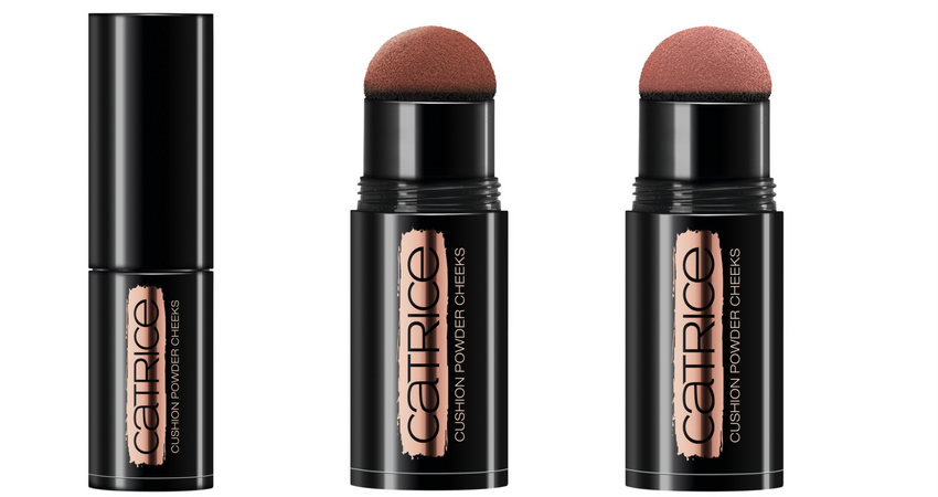 Blush in polvere con applicatore cushion : 01 Tanned Rose, 02 Tawny Apricot.
