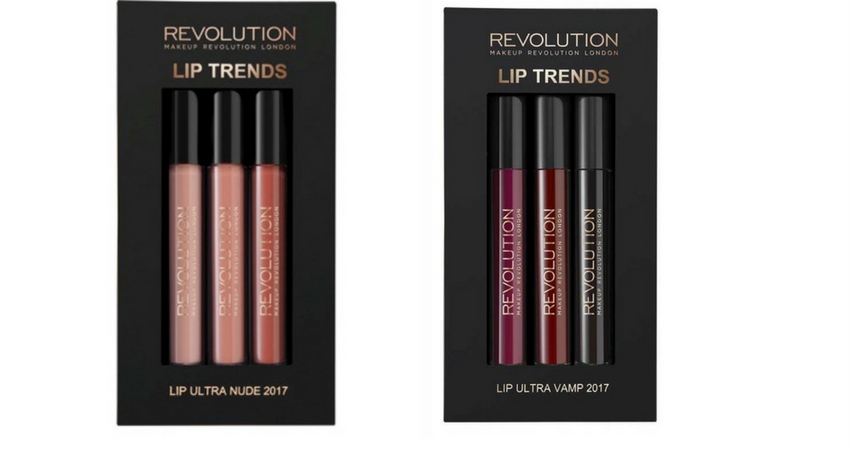 MAKEUP REVOLUTION - Lip Set Ultra Nude e Ultra Vamp - Prezzo: 6,00€