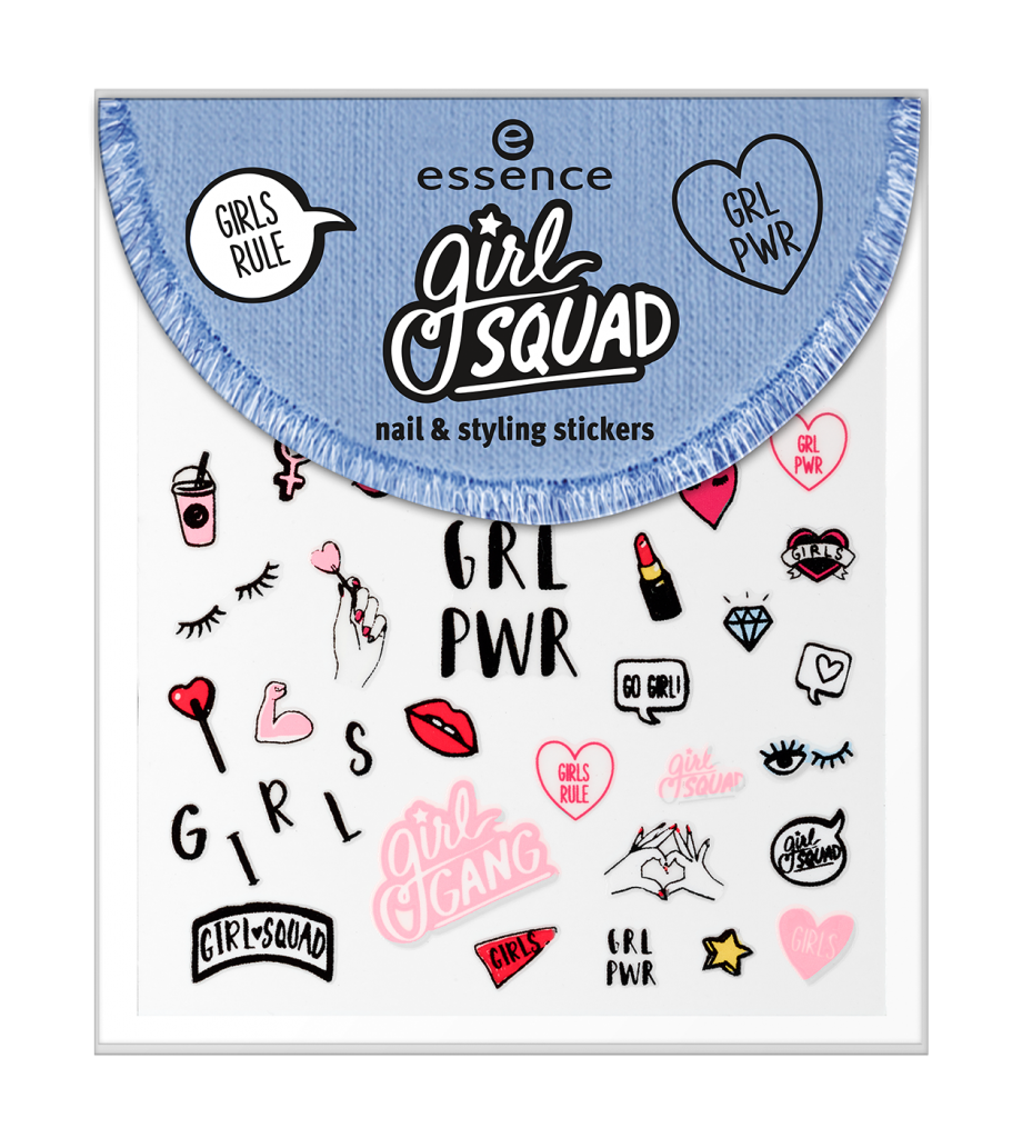 Girl Squad Nail and Stiling Stickers €1,69