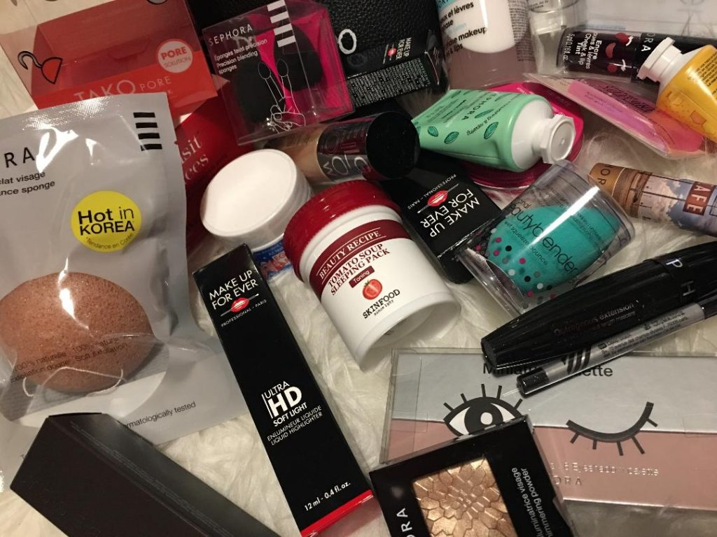 Novita' skincare e beauty...in store da Sephora !