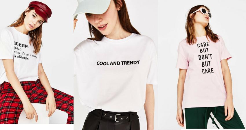 Tutte le tshirt sono di Bershka