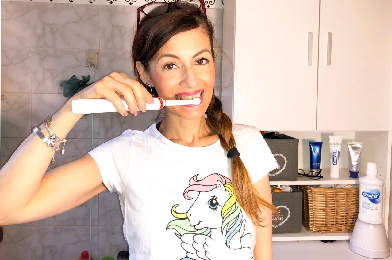 Mai senza spazzolino elettrico: uso Oral B da sempre !