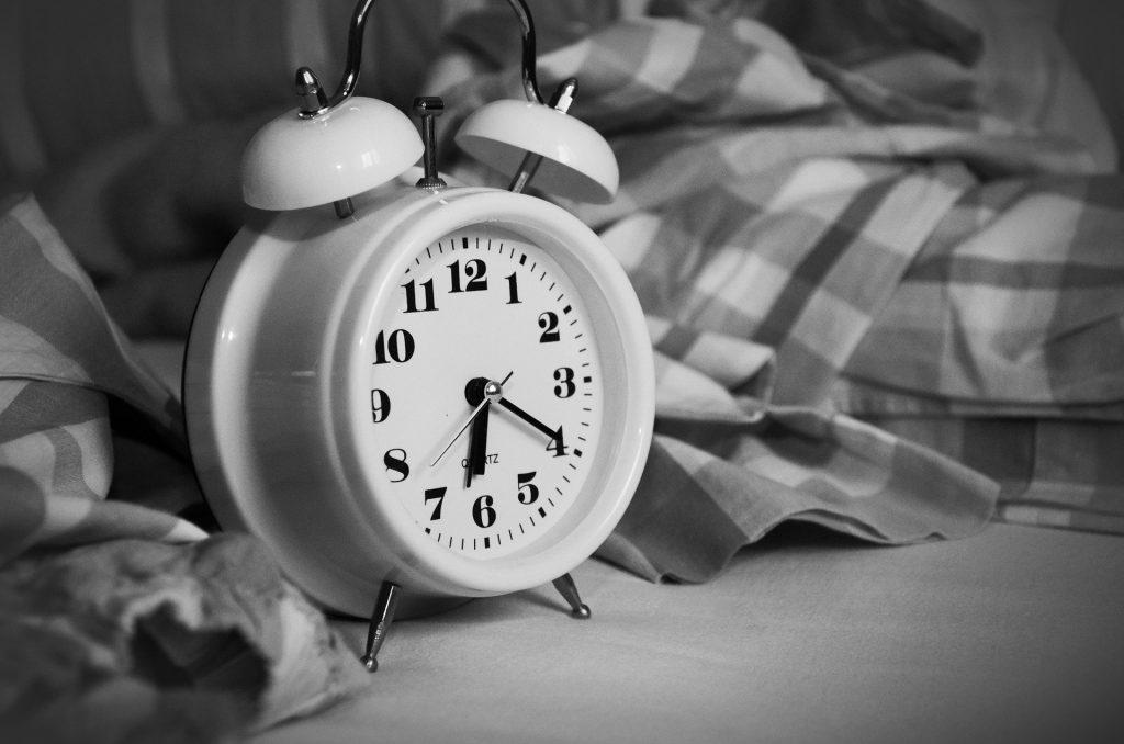 Ho ribaltato le mie abitudini e ho puntato le sveglia presto !