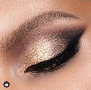 GLAM PALETTE LOOK (pic from @natashadenona Istagram )